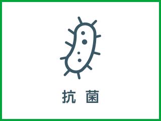 抗菌 食中毒の原因とされる大腸菌、黄色ブドウ球菌など予防